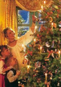 Wie schmücke ich einen Weihnachtsbaum?