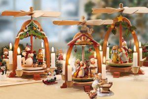 Warum dreht sich eine Weihnachtspyramide?