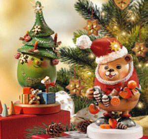 Wie lange soll die Weihnachtsdekoration stehen bleiben?